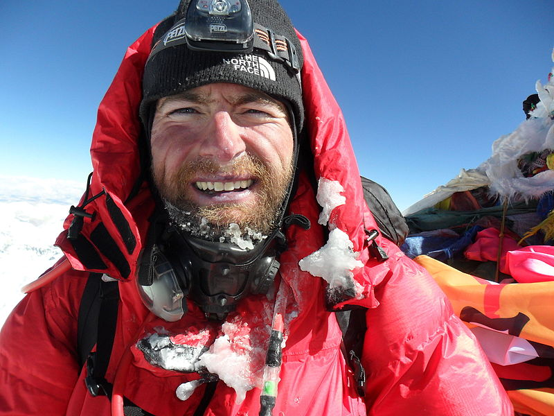 James Ketchell Climbing Everest